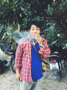 This is what a Thai cigarette looks like